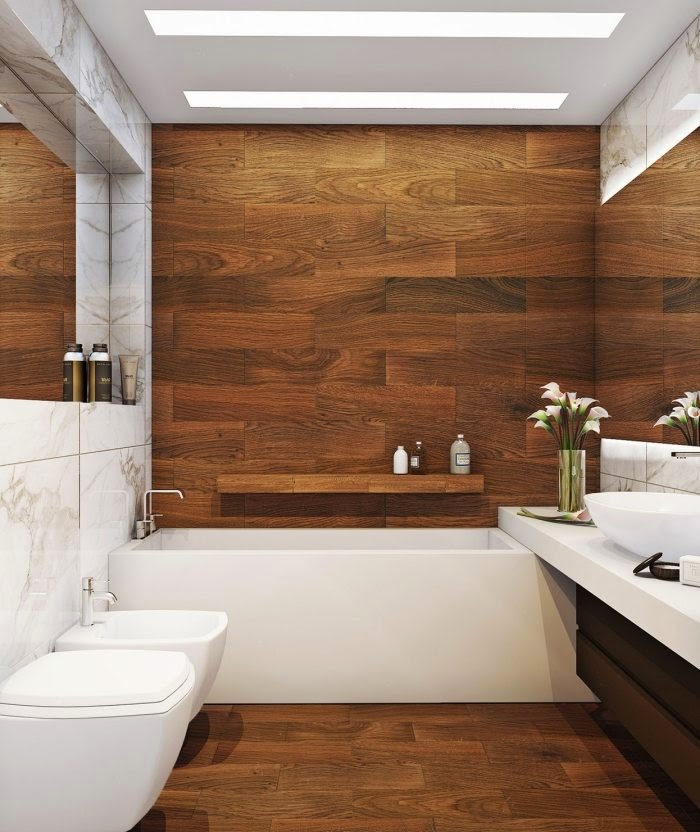 24 Perfect Large Bathroom Tiles Ideas | eyagci.com