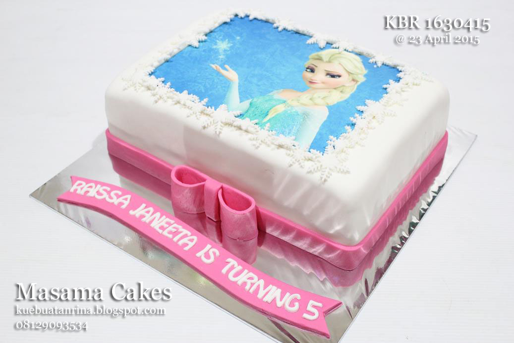Masama Cakes Princess Elsa Frozen Birthday Cake For Raissa