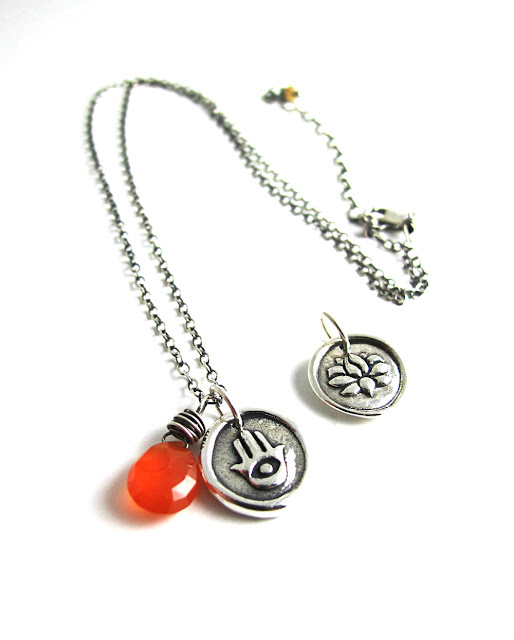 Fire Dancer Carnelian Necklace by Beth Hemmila of Hint Jewelry