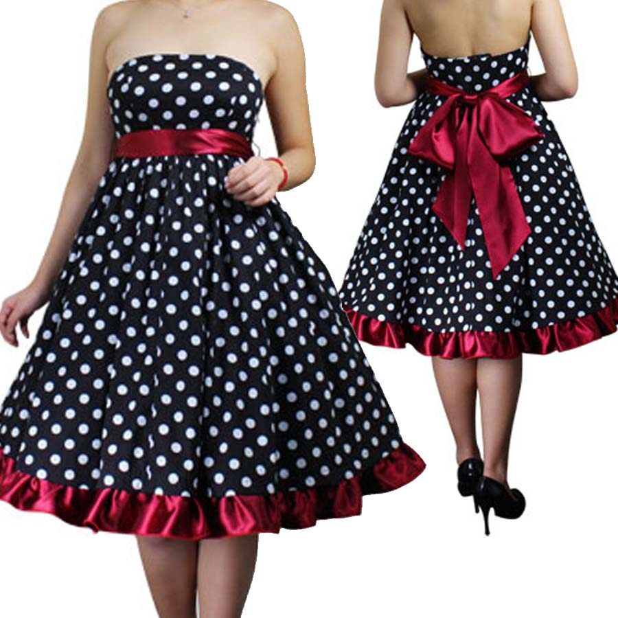 Cheap Plus Size Rockabilly Dress_Plus Size Dresses_dressesss