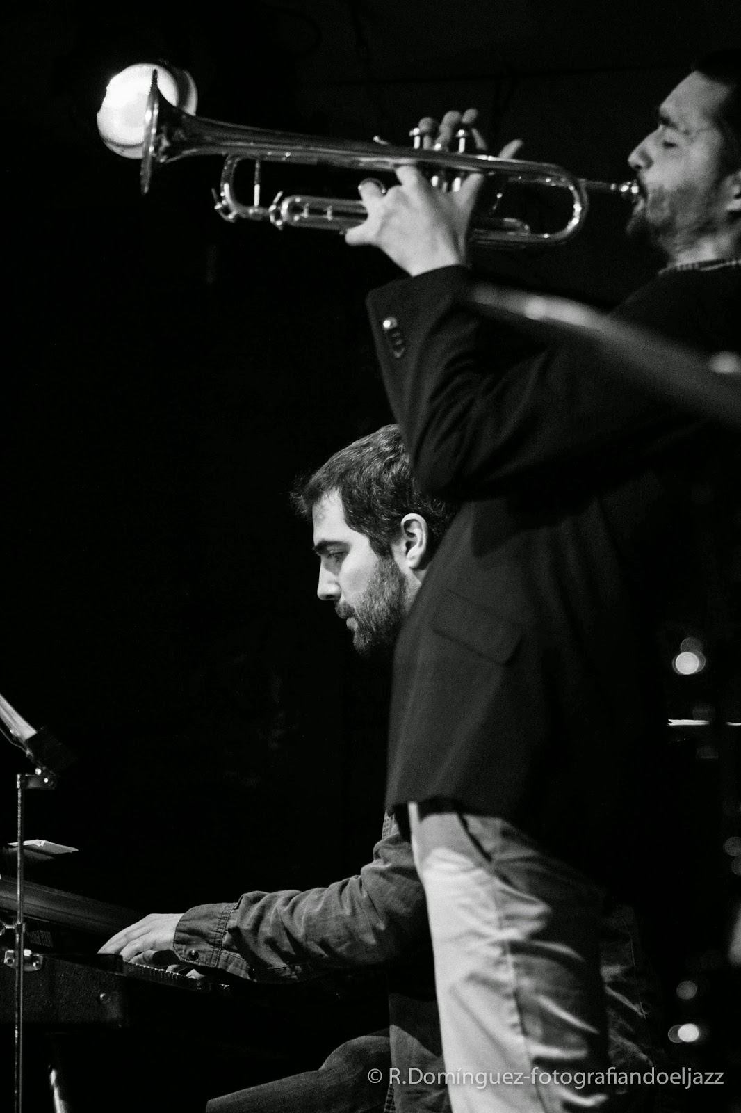 © R.Domínguez - Smack Dab Quintet - Oriol Vallés - Jöel González