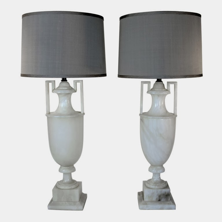 Currently Coveting Alabaster Lamps Shannon Claire