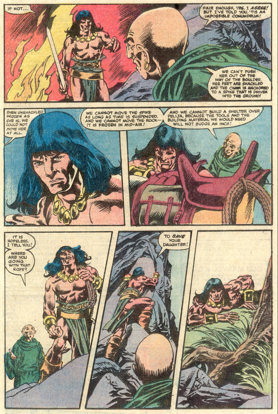 Conan the Barbarian (1970) Issue #134 #146 - English 16