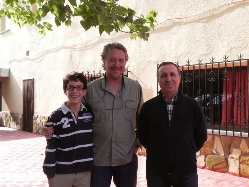 Víctor, Jose Ángel y Rafa