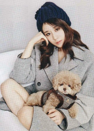 T-ara JiYeon Vogue magazine December 2014