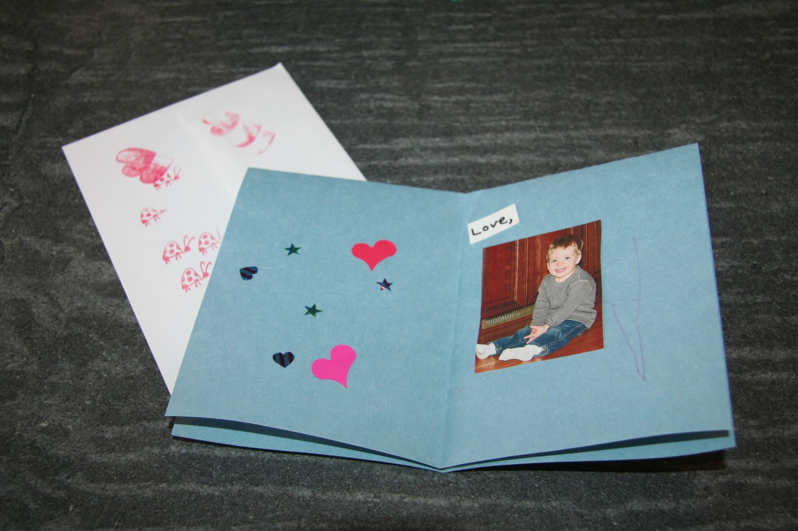 My New Normal Toddler Craft Project Valentines Day Cards – Toddler Valentines Day Cards