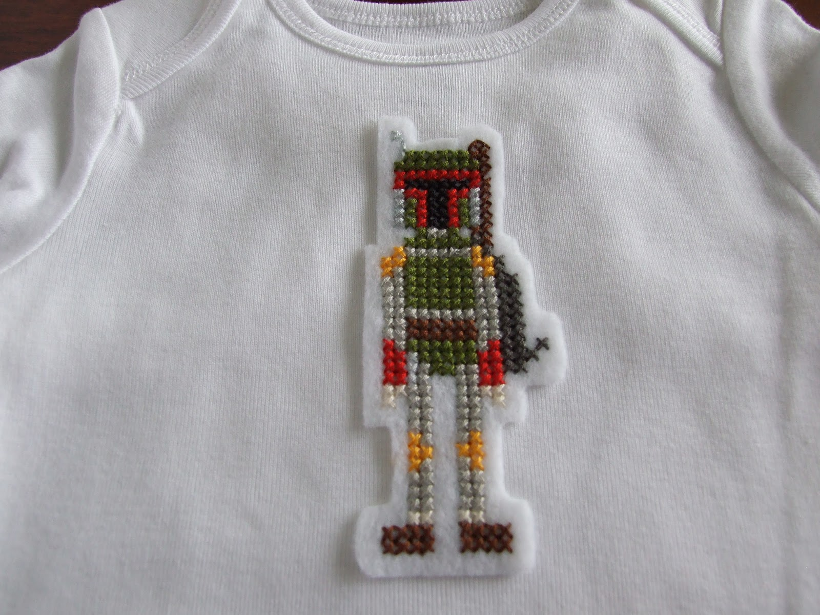 A Few Simple Running Stitches Will Attach Boba Fett To Any Item