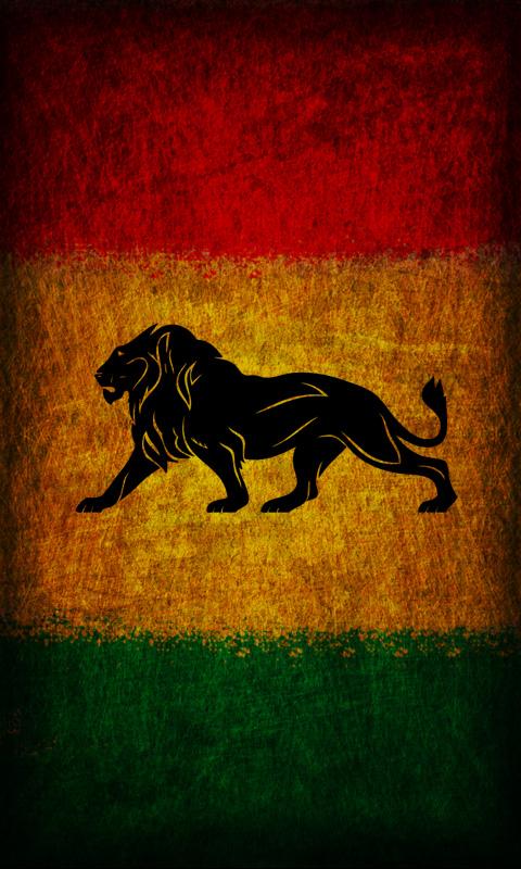 Papel de parede para Celular Leão do Reggae  SOMJAH  Rádio Reggae