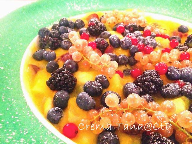 Ricetta deliziosa crema al limone fresca e profumata perfetta per accompagnare la frutta