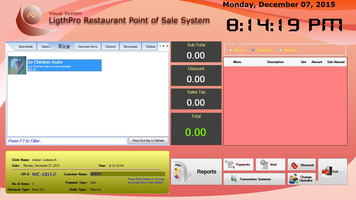 methodology in point of sale system examples As businesses have different profiles they need a various point of sale systems as well for example, restaurants, retail businesses, and grocery stores all have.