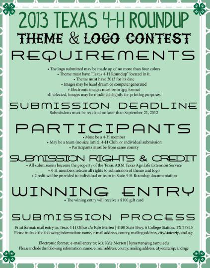 2013 Logo Contest