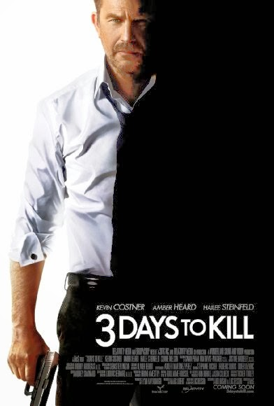 3 Days to Kill  HDCAM AVI e RMVB Legendado