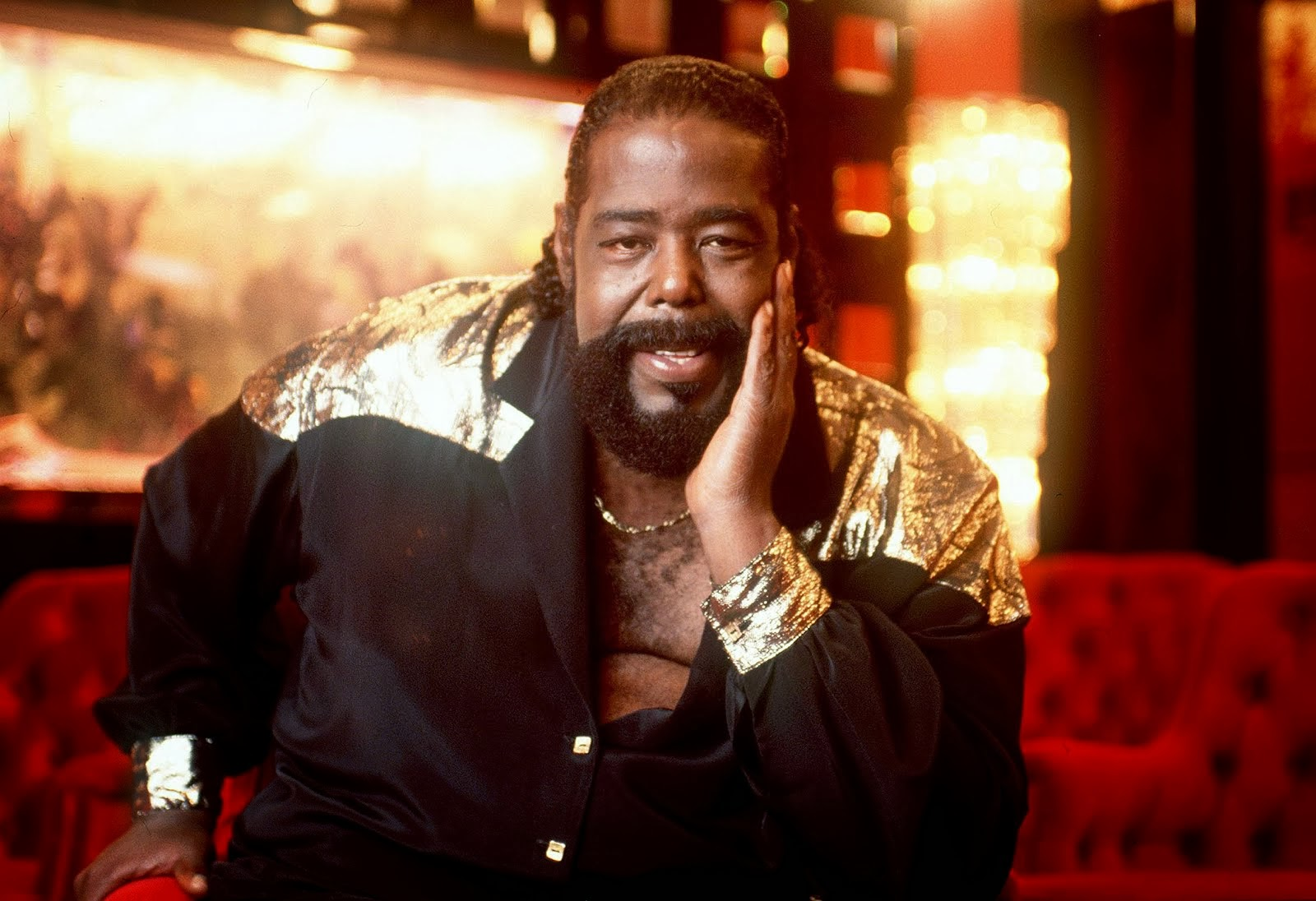 Im Memorian Barry White Nascimento: 12 de setembro de 1944,Falecimento: 4 de julho de 2003