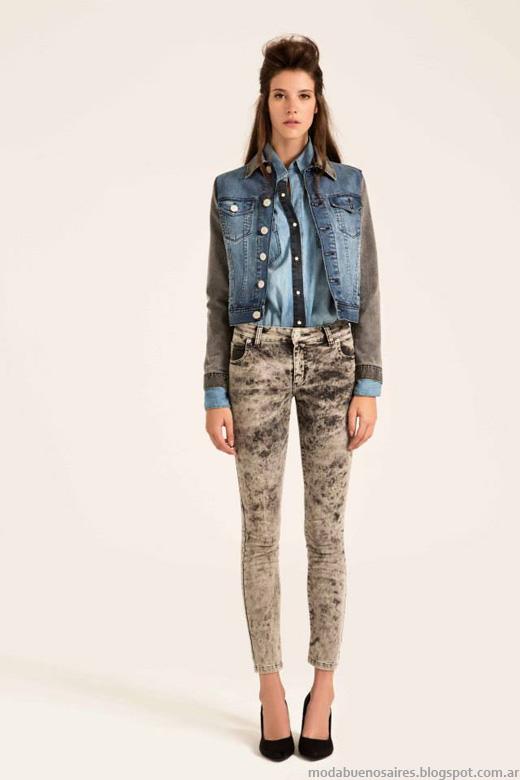 Desiderata invierno 2014 pantalones de jeans.