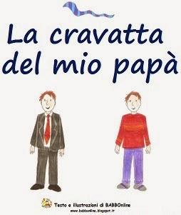"""Il mio racconto """"La cravatta del mio papà"""""""