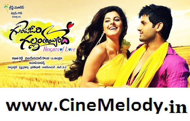 Gunde Jaari Gallanthayyinde Telugu Mp3 Songs Free  Download -2013