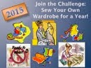 Sew Your Own Wardrobe For a Year (2015)!