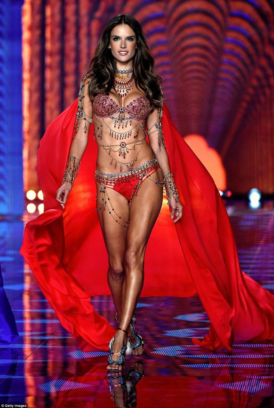 Alessandra Ambrosio - VS Dream Angels Fantasy Bras at the 2014 Victoria's Secret Fashion Show