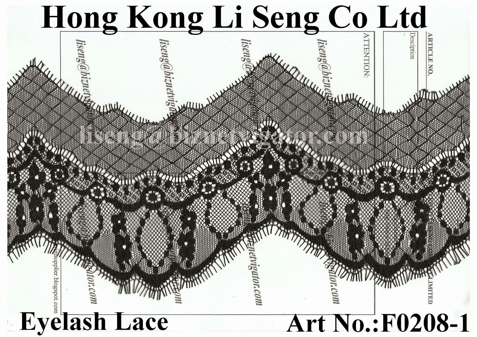 New Lace Trims Pattern
