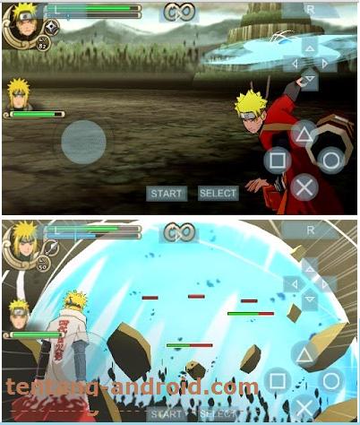 naruto shippuden ultimate ninja impact psp high compress