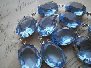 sapphire, georgian, necklace, anna wintour, sacred cake, jennifer valentine