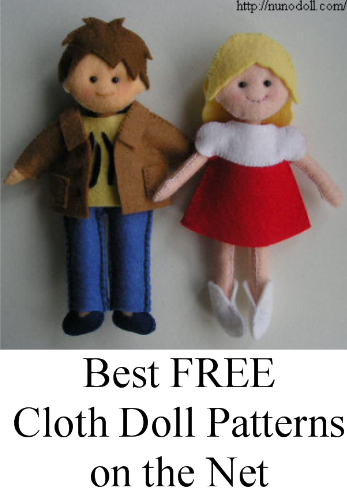 Best FREE Cloth Doll Patterns on the Net | Proverbs 31 Woman
