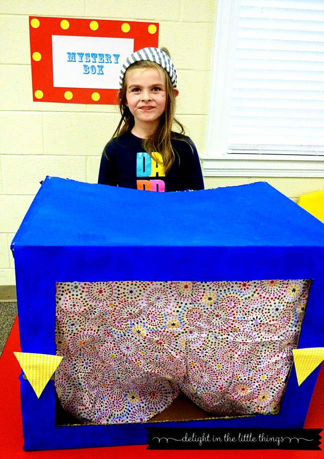 Carnival Birthday Mystery Box Game | delightinthelittlethings.com