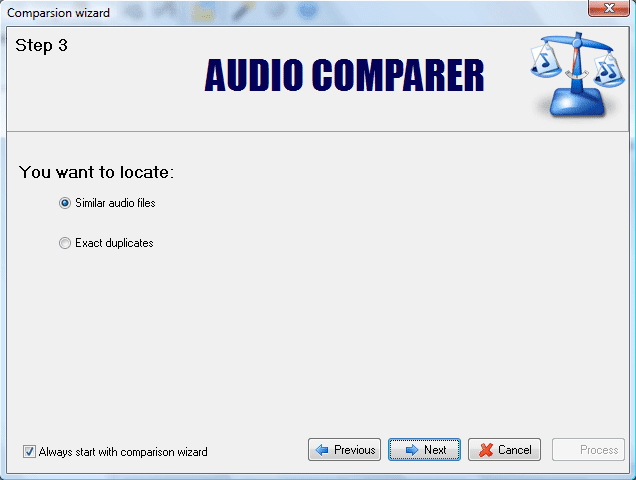 Audio Comparer 1.7 business