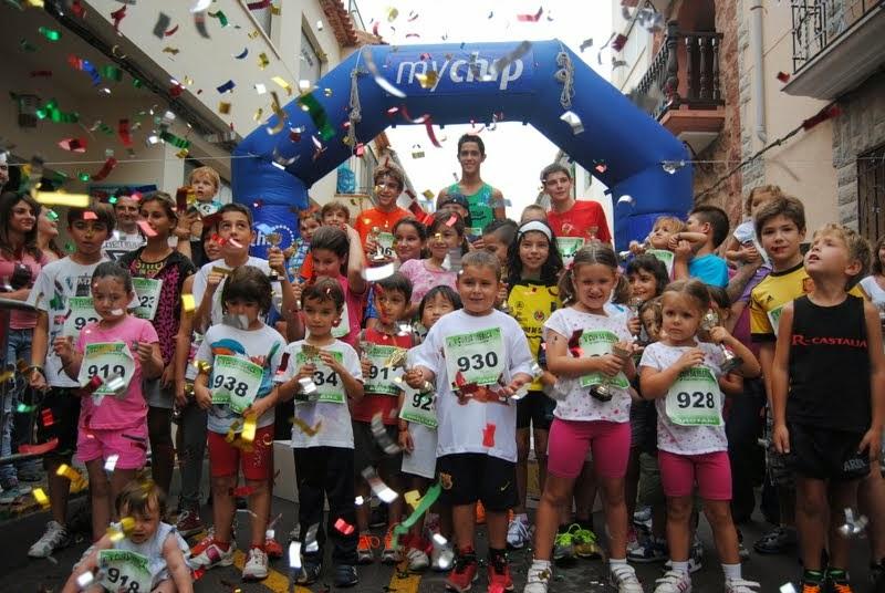 XVII Volta a Peu Figueroles 2013 (Cursa Infantil)