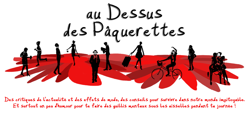 au dessus des pâquerettes