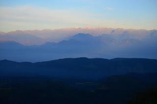 Amanece en la Sierra Nevada, vista desde la Sierra del Perijá. Que pena con usted