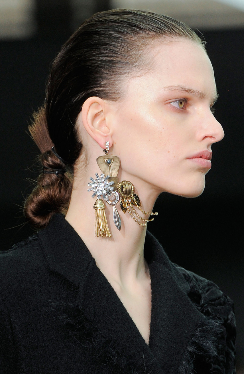Celine Fall 2014 | trends | single earring
