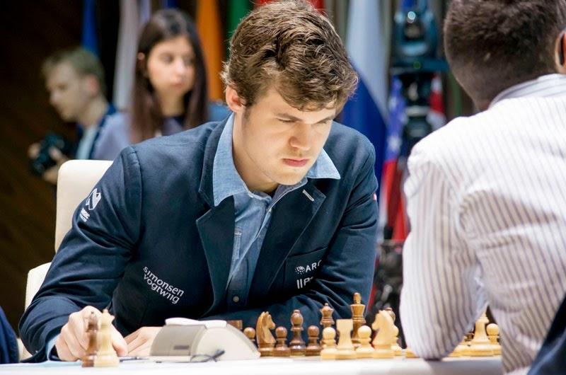 Shamkir Chess 2015. Caruana - Carlsen