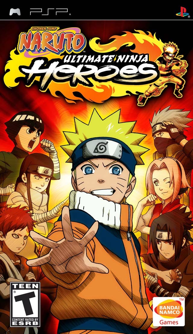 Download game [Giải lập - PSP] Naruto - Ultimate Ninja Heroes - rất hay