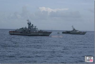 Chiếc tàu tuần dương tên lửa Molnya đã hoàn thành của Hải quân Việt Nam