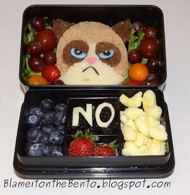 Grumpy Cat Bento