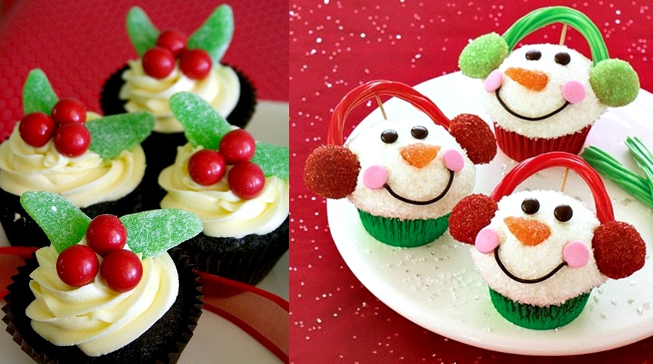 Pop Culture And Fashion Magic Christmas Desserts Cupcakes