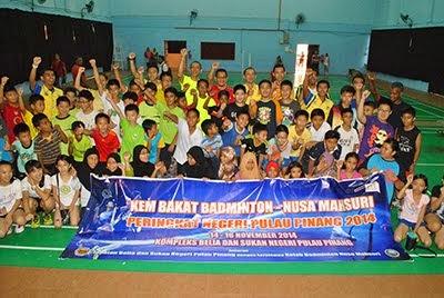 Kem Bakat Badminton Negeri Pulau Pinang 2014