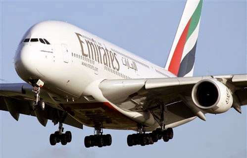 Emirates, the world's seventh largest multinational airline company based in UAE