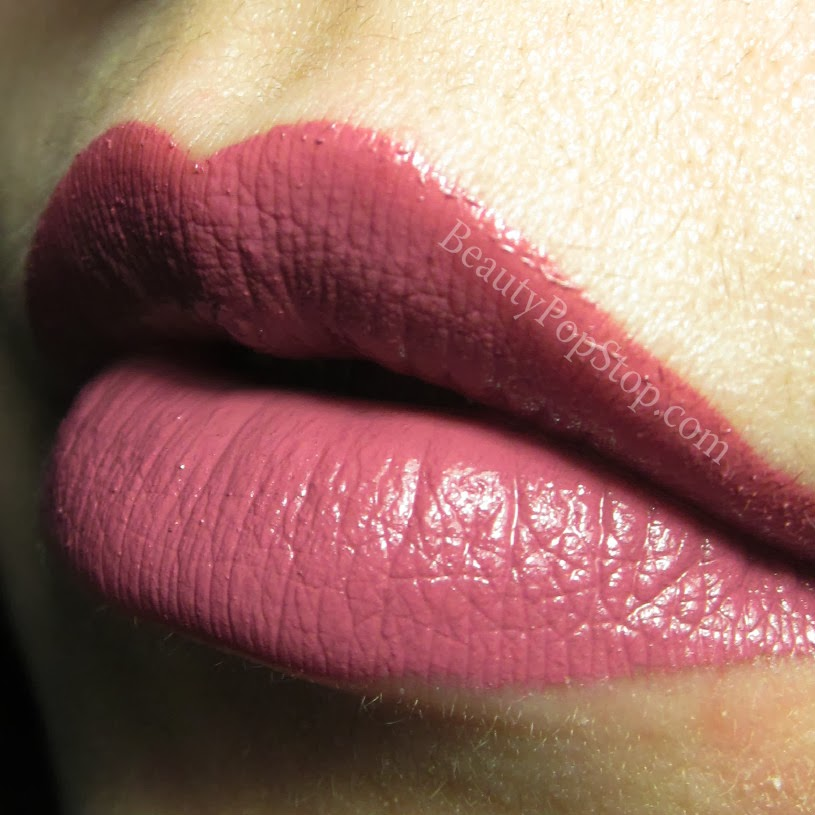 obsessive compulsive cosmetics lydia lip tar swatch