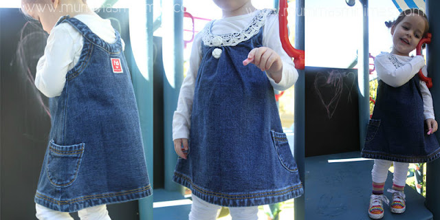 baby clothes dresses denim