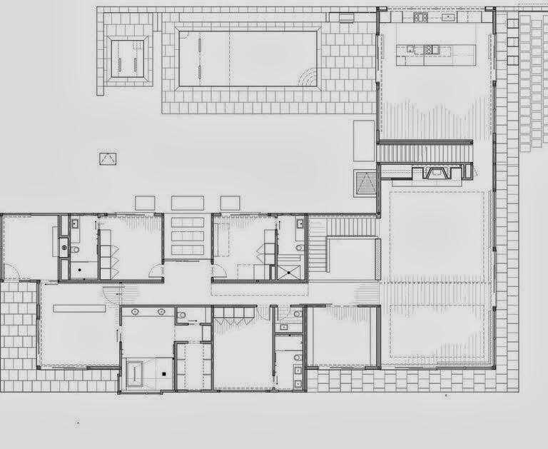 Planos y dise o de casa moderna especial para climas fr os for Planos y disenos de casas modernas
