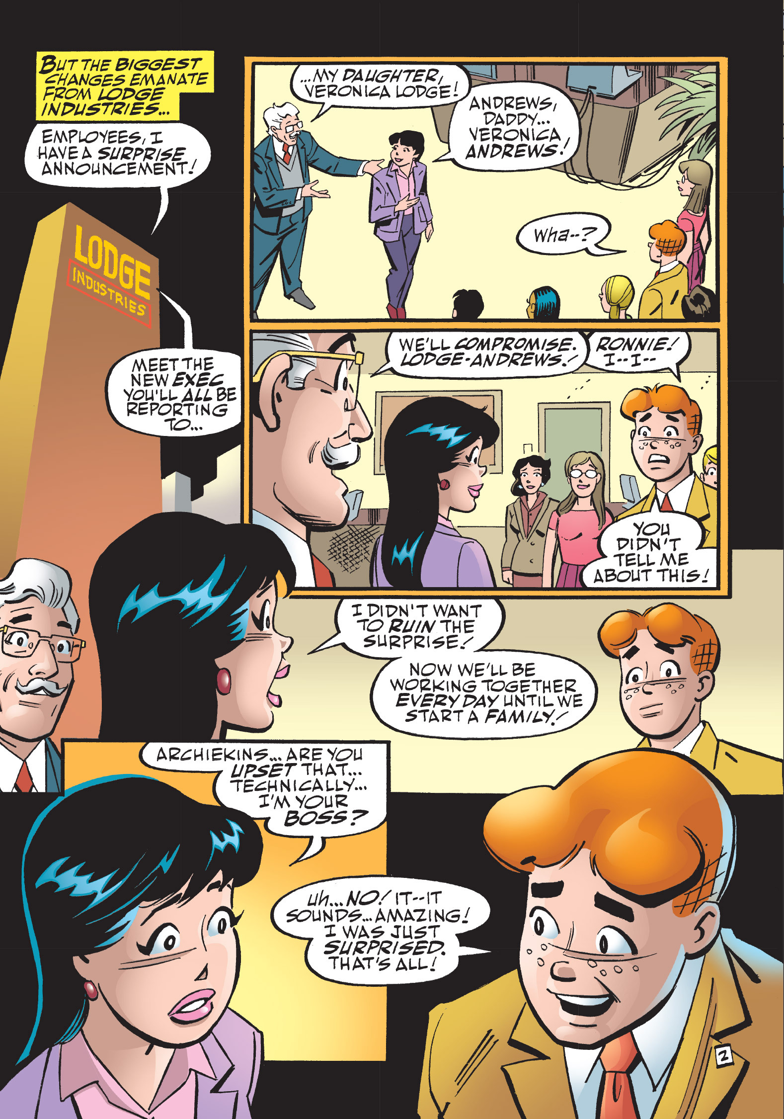 Read online The Best of Archie Comics comic -  Issue # TPB 1 (Part 2) - 145