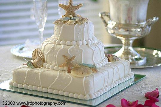 TORTA CAKE BODA EN LA PLAYA