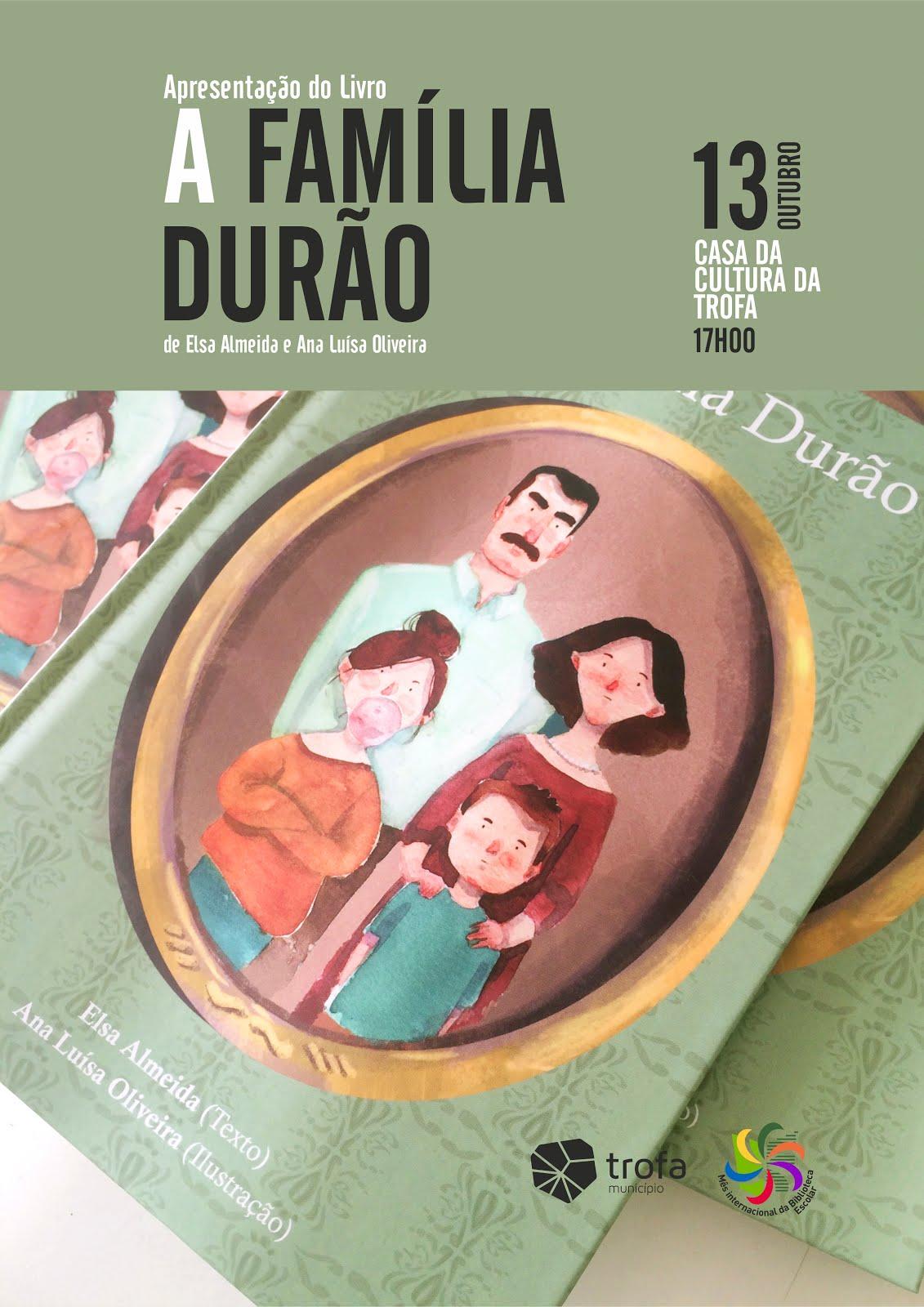 """""""A família Durão"""", o novo livro de Elsa Almeida"""
