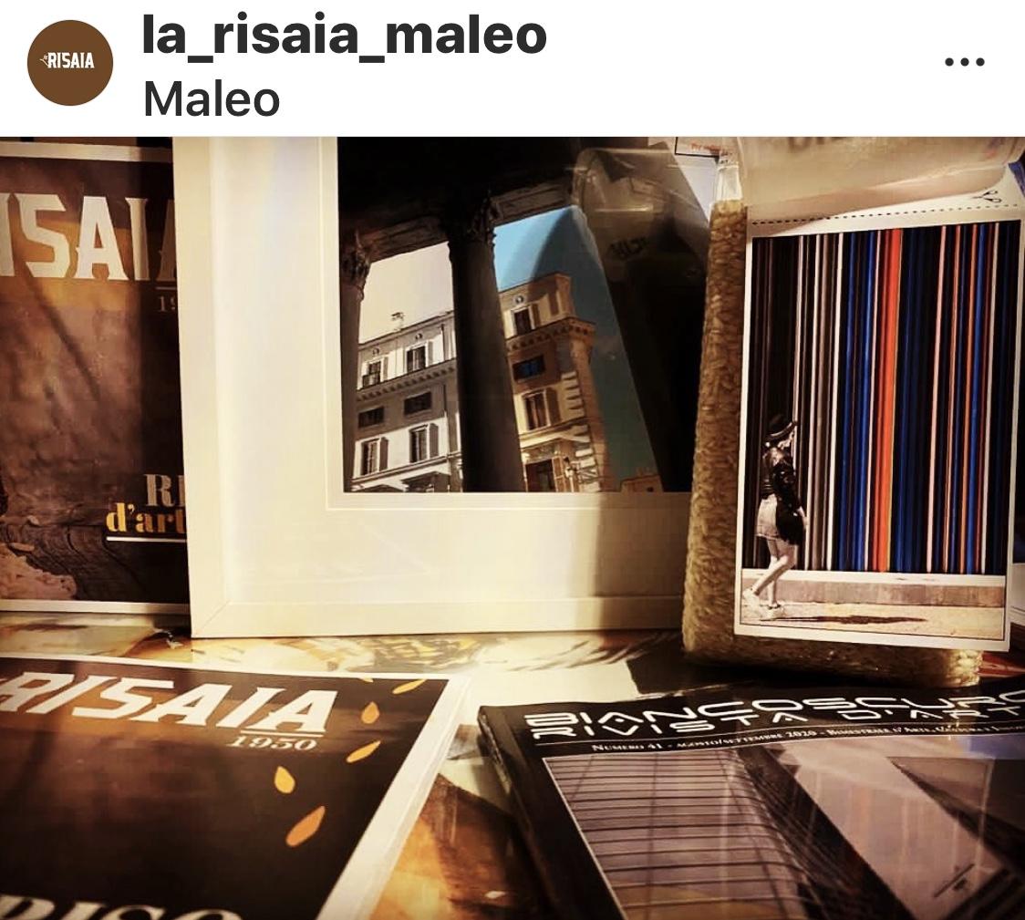 Isabella Rigamonti per LA RISAIA DI MALEO - RISO D'ARTISTA - SERIE CON ETICHETTA DI ARTISTA - NUMER