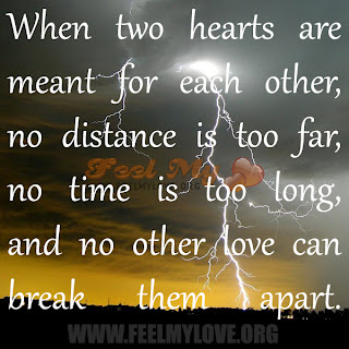 When two hearts are meant for each other