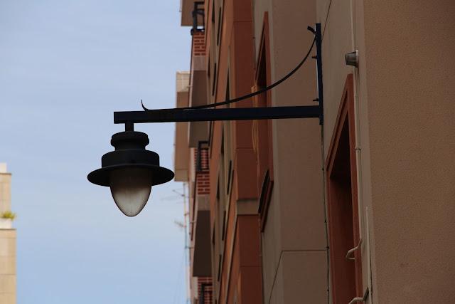 Farola en el barrio de Rontegi
