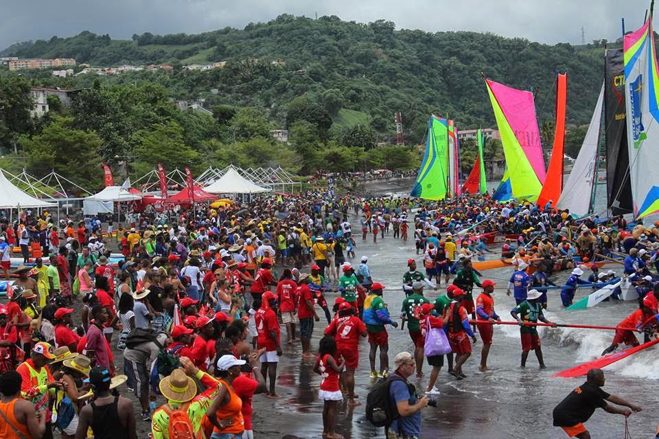 Tour des yoles de la Martinique