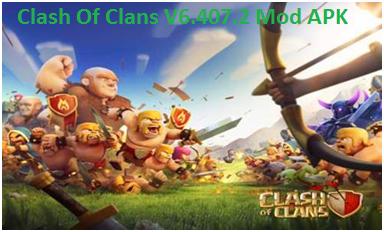 Clash Of Clans V6.407.2 Mod APK